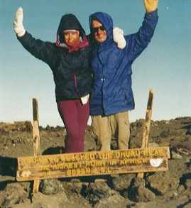 Mt. Kilimanjaro Summit Elevation 19,341 ft.