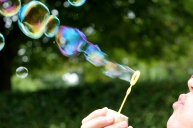Blowing Bubbles - Large